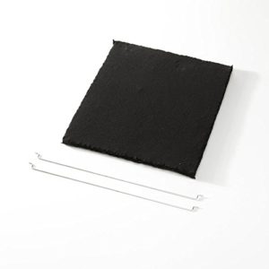 Elica F00439 Filter  Cooker Hood Parts  Accessories Filter Black Carbon Elica Ico Om Sinfonia 280 mm