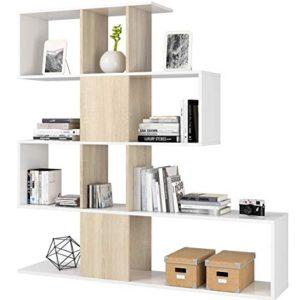 Azard ZigZag Libreria Bianco 145x29x145cm