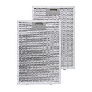Klarstein Filtri Antigrasso in Alluminio 26 x 37cm Filtri di ricambio